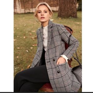 NWT Sezane Johnson Coat FR 34 US 2